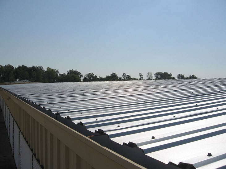 R Panel Metal Roofing
