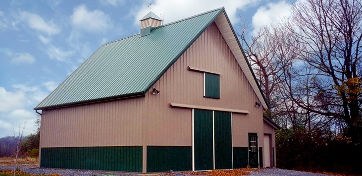 Metal Roofing & Siding on Barn